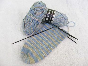 See Saw Socks by Kim Salazar (circa 2001!)