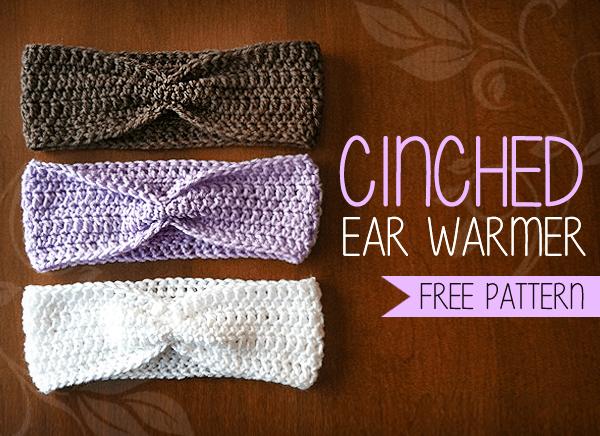 Cinched Ear Warmer Free Ear Warmer Headband Crochet Pattern By Cool Ear Warmer Headband Crochet Pattern
