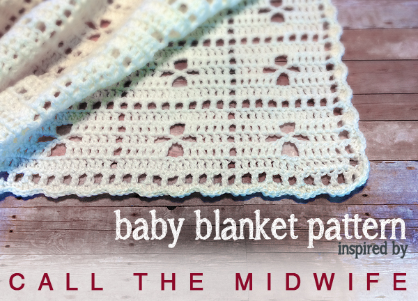 Call The Midwife Inspired Vintage Baby Blanket Free Crochet