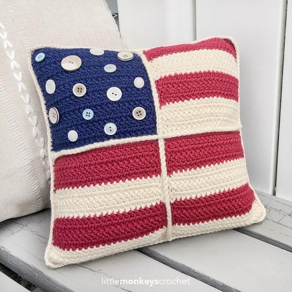 Americana Pillow (12″)