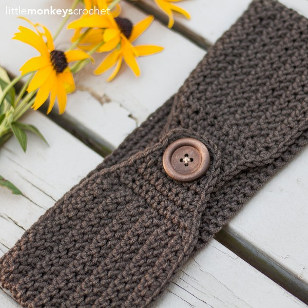 Easy Herringbone Earwarmer