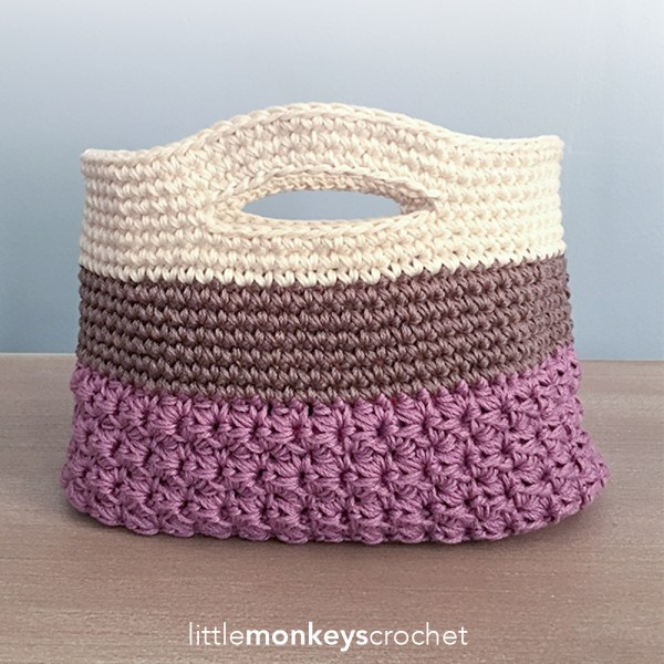 Huntley Gift Bag Crochet Pattern