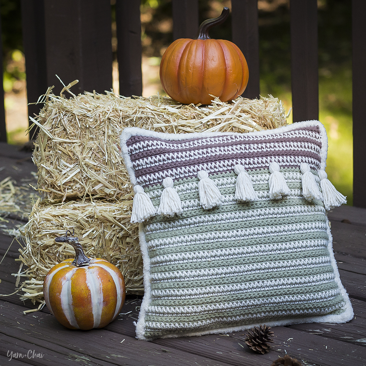 Autumn Boho Pillow