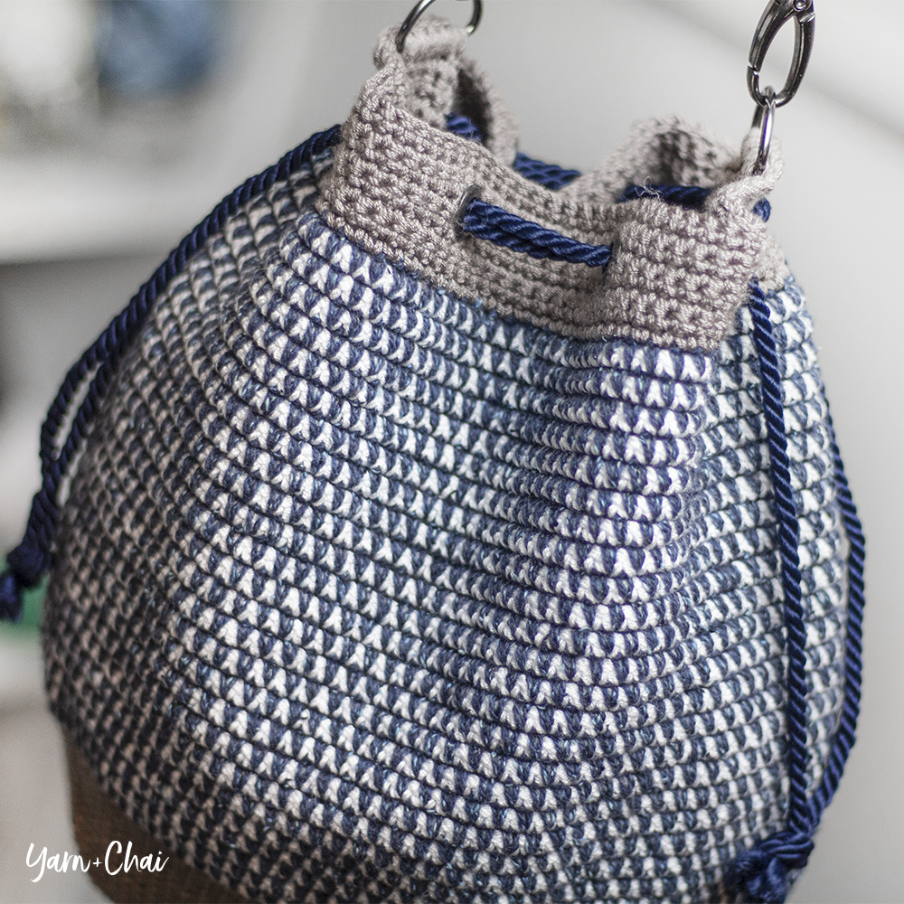Mosaic Bucket Bag Crochet-Along