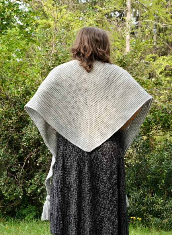 tunisian simple shawl 11