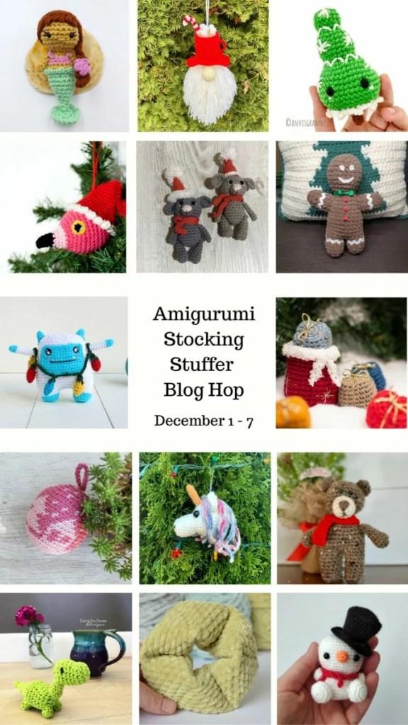 Amigurumi Stocking Stuffer Blog Hop IG story