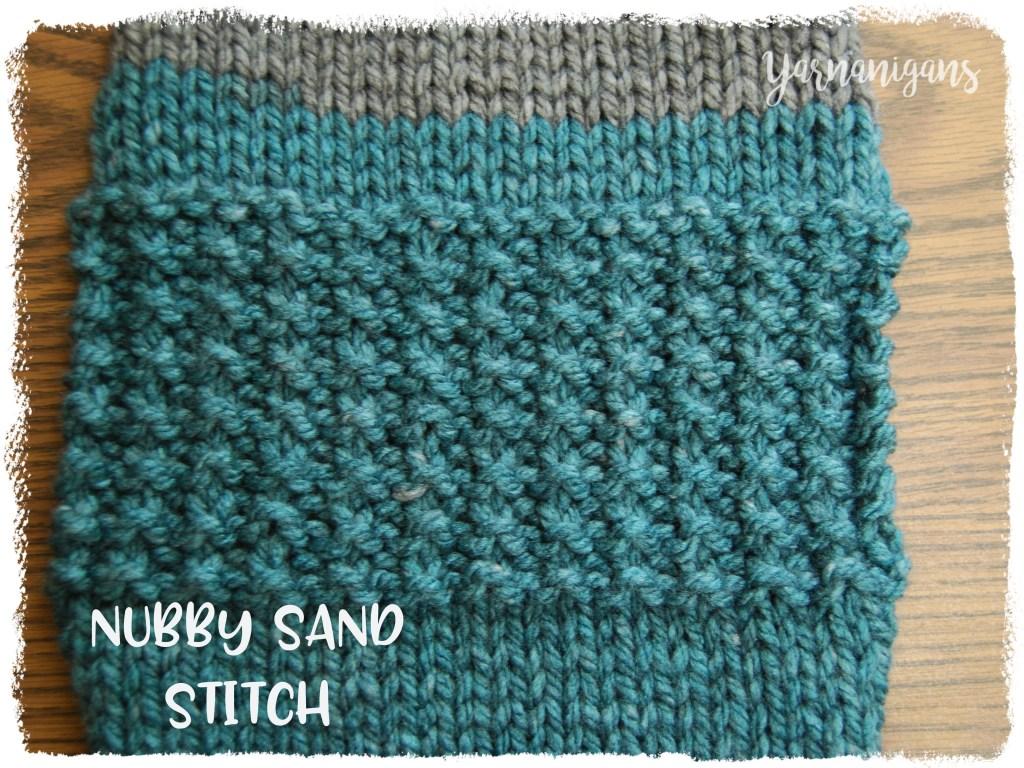 knit sampler scarf