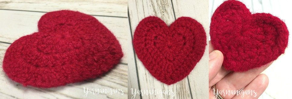crochet blog heart free pattern felted heart