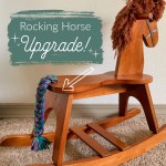 Rocking Horse Upgrade Yarndrasil Free Diy Tutorial