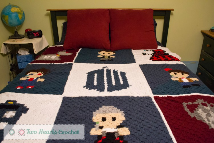 Whovian Graphghan (1 of 3)
