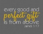 Bible Verse (Perfect Love) - Crochet Graphghan Pattern