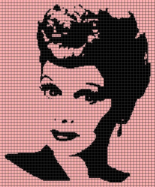 Lucille Ball (Graph AND Row-by-Row Written Crochet Instructions) – 02