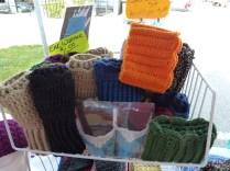 crocheted goods