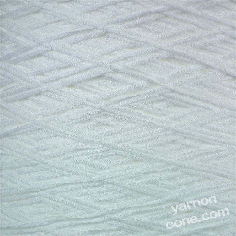 optic white yarn fettucina cone 4 ply knitting machine yarn hand knitting coned yarn uk