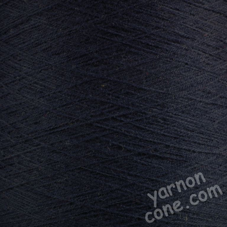 2/30s high bulk acrylic machine knitting yarn on cone 1 2 ply soft navy blue