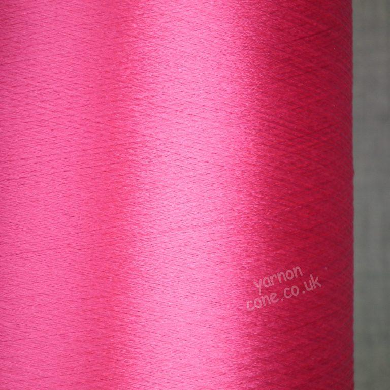 100% pure silk yarn trame weaving extrafine handweaving silk tram 4x 20/22 denier hot pink yarn cone uk seller