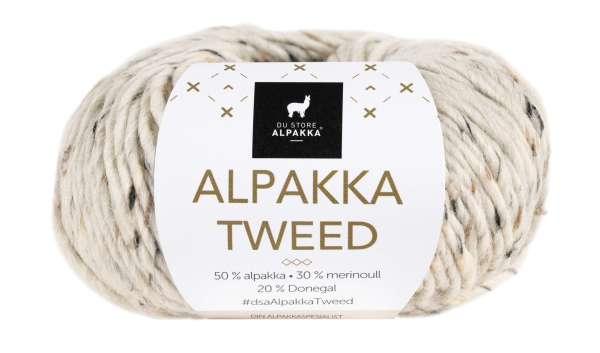 Alpakka Tweed Natur 113