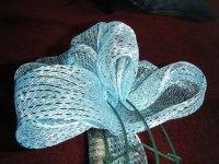 Winter Wonderland Deco Mesh Wreath | yarn over and bake