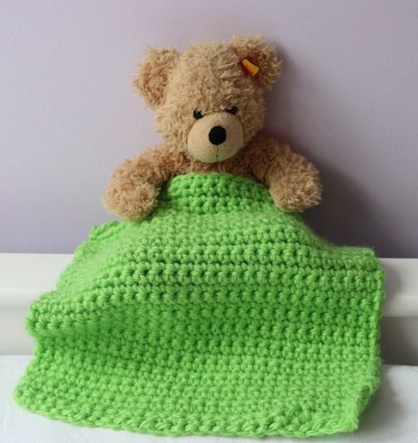 Crochet Kit for kids - my first blanket