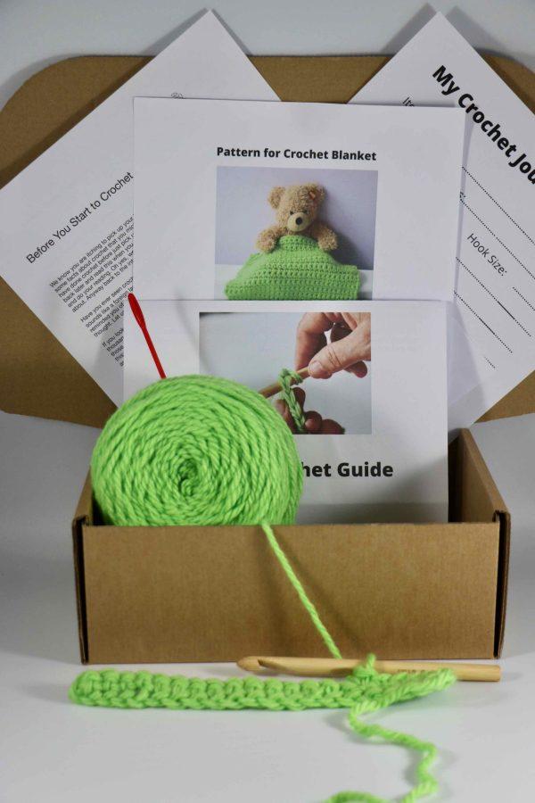 Crochet kit for kids prepared kit
