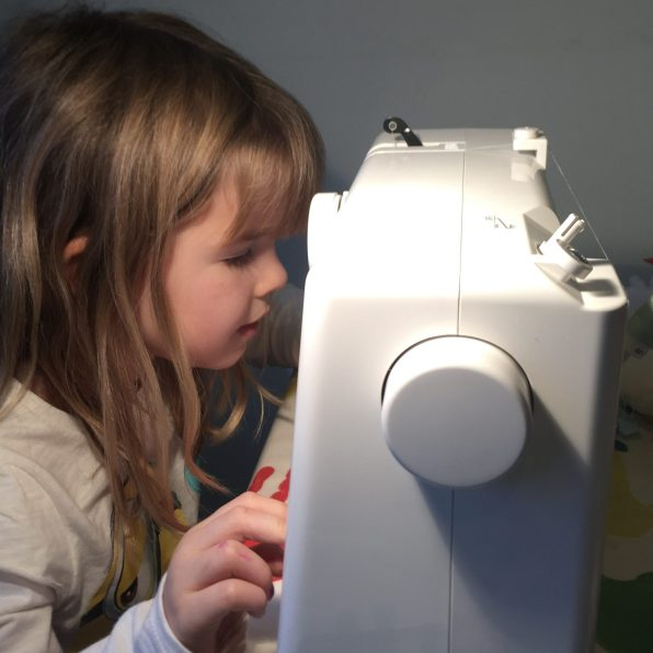 Sewing is fun too
