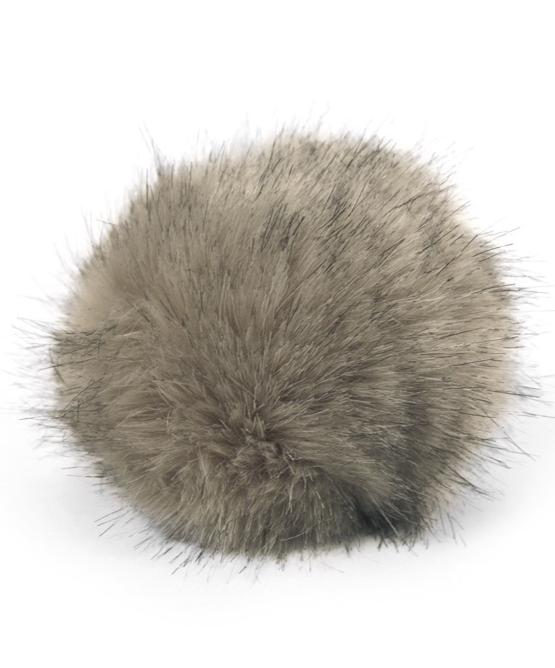 Image result for faux fur pom pom
