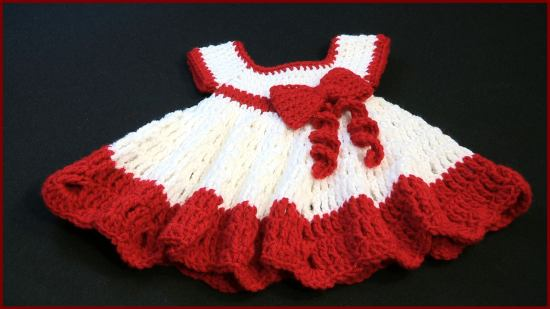 Baby Dress with a Bow