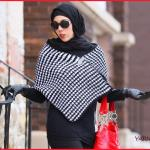 Crochet Tutorial: Houndstooth Stitch Shawl