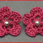 Crochet Tutorial: Earring Embellishment