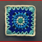 Crochet Tutorial: Real Wheel Granny Square