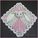 Crochet Tutorial: Mini Square Bunny Lovey