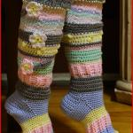 Crochet Tutorial: Knee-High Socks