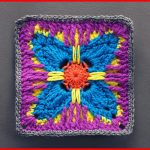 Crochet Tutorial: Vivacious Attitude Granny Square