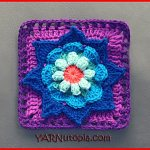 Blooming Daydreams Granny Square
