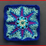 Crochet Tutorial: Celestial Delight Granny Square