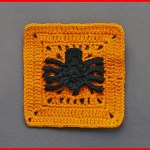 Crochet Tutorial: Spinning Spider Granny Square