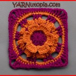 Crochet Tutorial: Wild Flower Days Granny Square