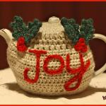 Crochet Tutorial: The Joyful Teapot Cozy