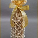 Crochet Tutorial: Sparkling Wine Beverage Bag