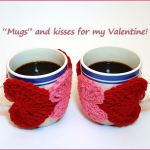 Crochet Tutorial: String of Hearts Cup Cozy