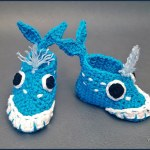 Crochet Tutorial: Whale-y Awesome Baby Booties