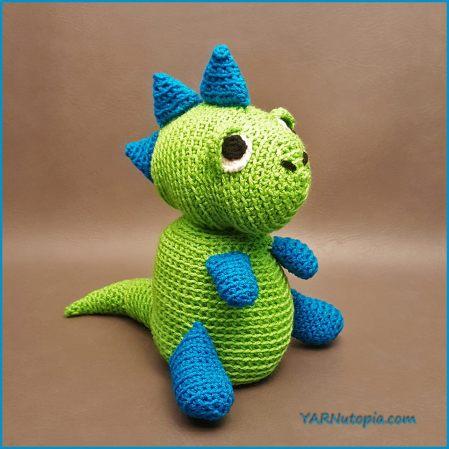 Pedro T-Rex, Amigurumi Pattern | Patrones amigurumi, Dragón de ... | 449x449