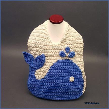 Blue Whale Amigurumi1 by ChibiSayuriEtsy on DeviantArt | 433x433