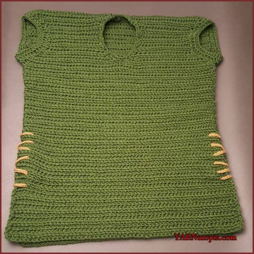 Crochet Tutorial Link To The Past Pullover Sweater Vest