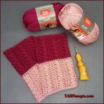 Crochet Tutorial: Two-Toned Cable Boot Cuffs