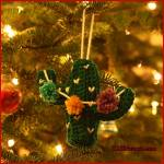 12 Days of Christmas: Cactus Ornament