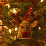 12 Days of Christmas: Reindeer Ornament
