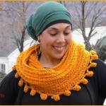 Crochet Tutorial: Pommin' Around Cowl