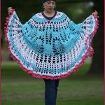 Crochet Tutorial: Pom Poms and Pineapples Poncho