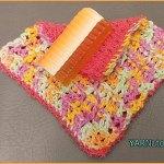 Crochet Tutorial: Dual Sided Washcloth